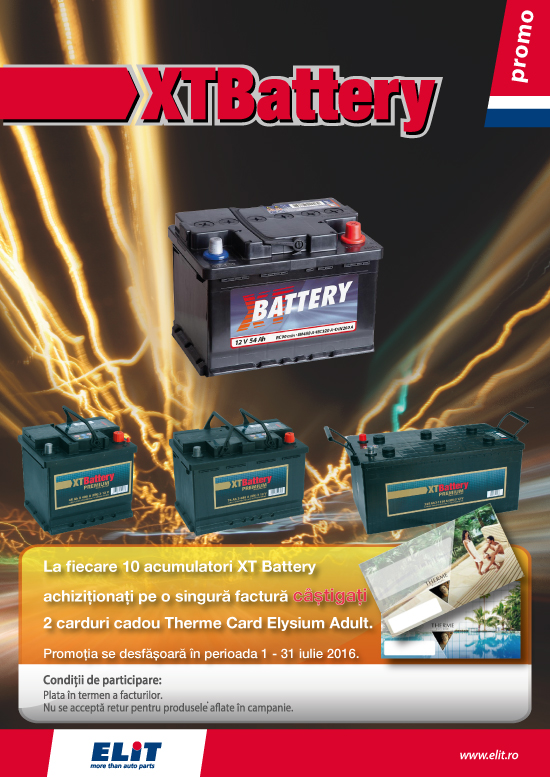 Promo XT Battery