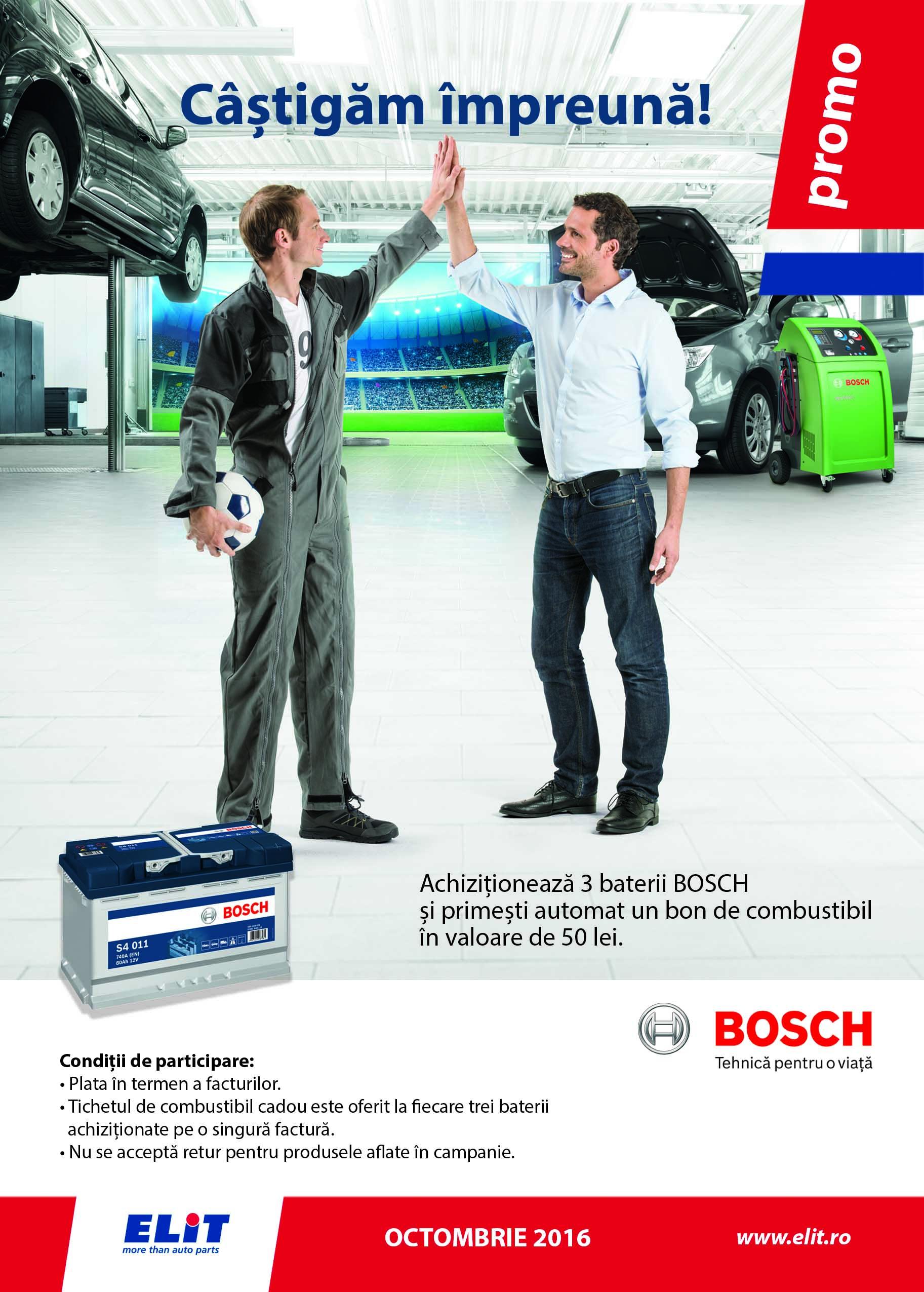 Promo baterii BOSCH