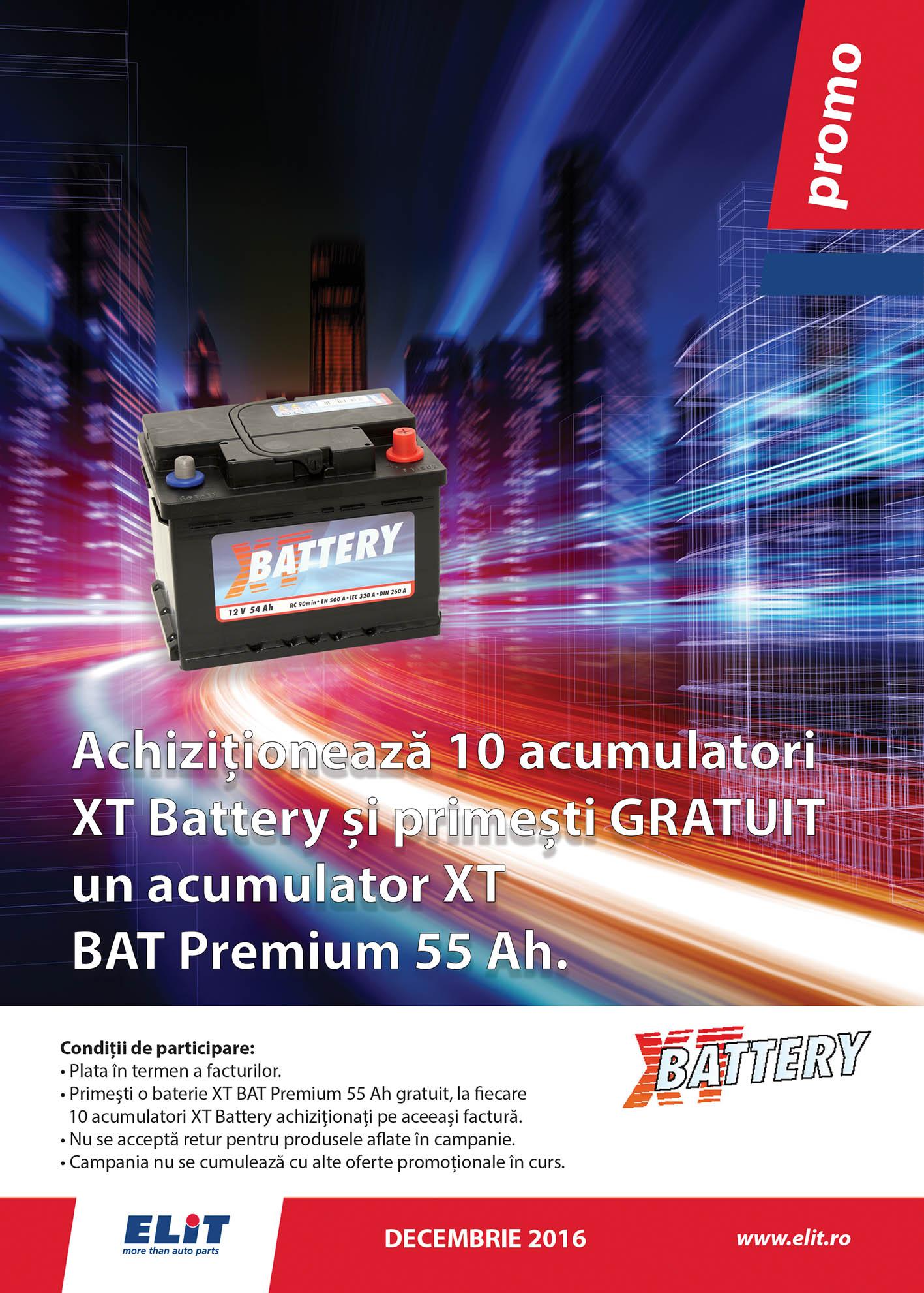 Oferta speciala baterii XT