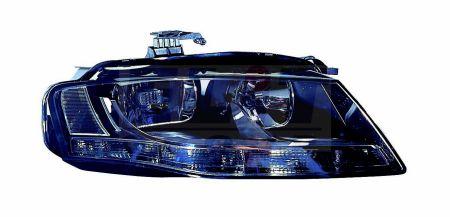 Far dreapta H7/H7 cu LED,Audi A4 B8, reglaj automat, cu motoraş, -7/10