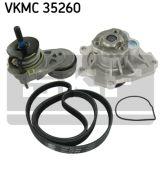 SKF VKMC35260 Водяной насос + комплект ручейковых ремней