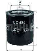 KNECHT OC485 Масляный фильтр