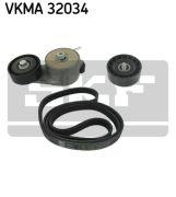 SKF VKMA32034 Поликлиновой ременный комплект