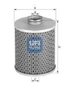 UFI 2542700 Масляный фильтр