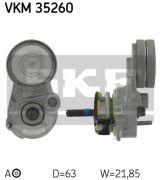 SKF VKM35260 Натяжной ролик, поликлиновой  ремень