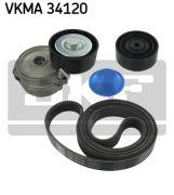 SKF VKMA34120 Поликлиновой ременный комплект