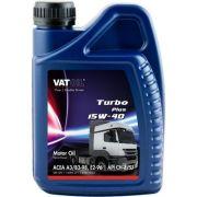 VATOIL VAT131 Масло моторное VATOIL Turbo Plus 15W-40 1L (ACEA A3/B4/E2, MB 228.1, Volvo VDS, MAN 271)
