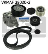 SKF VKMAF380203 Поликлиновой ременный комплект