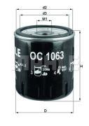 KNECHT OC1063 Масляный фильтр