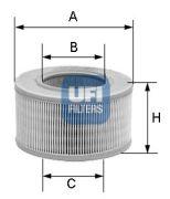 UFI 2723900 Воздушный фильтр