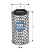 UFI 2718900 Воздушный фильтр