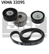 SKF VKMA33095 Поликлиновой ременный комплект