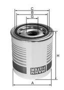 MANN TB1396X Фильтр влагоотделителя