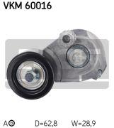 SKF VKM60016 Натяжной ролик, поликлиновой ремень