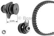 Bosch  Водяной насос + комплект зубчатого ремня к+помпа)