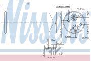 Nissens  Осушитель CT/GMC LEGANZA(97-)2.0 i 16V(+)[OE 96207355]