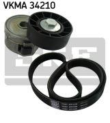 SKF VKMA34210 Поликлиновой ременный комплект