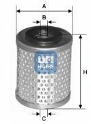 UFI 2666300 Топливный фильтр