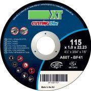 XT XTCD1151 Отрезной диск по металлу 115x1 mm