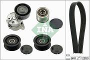 INA 529013910 Поликлиновой ременный комплект