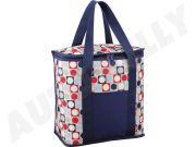 CARFACE DOCFATPCCB1001R Рефрижераторный мешок, содержание 20 L, декор R - Red с сине-зелеными цветами, современный вид.