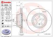 BREMBO 09935510 Тормозной диск