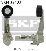 SKF VKM33400 Натяжной ролик, поликлиновой  ремень