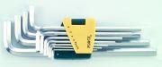 FORCE FOR5116L Набір ключів подовжених Г-подібних НЕХ 1.5,2,2.5,3,4,5,6,7,8,10,12мм