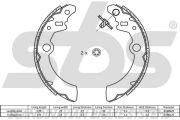 SBS 18492752692 Тормозные колодки барабанные, к-кт.