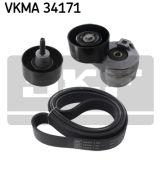 SKF VKMA34171 Поликлиновой ременный комплект