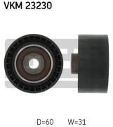 SKF VKM23230 Паразитный / Ведущий ролик, зубчатый ремень