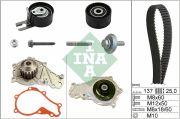INA 530037530 Водяной насос + комплект зубчатого ремня