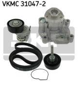 SKF VKMC310472 Водяной насос + комплект ручейковых ремней