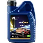 VATOIL VAT101SUPER Масло моторное Vatoil SynGold Super 5W30 / 1л. / (ACEA C4-12, C3-12, Renault RN0720)