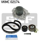 SKF VKMC02174 Водяной насос + комплект зубчатого ремня