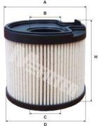 MFILTER DE3113 Топливный фильтр