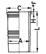 Kolbenschmidt  Гильза (D28..)