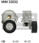 SKF VKM33032 Натяжной ролик, поликлиновой  ремень