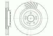 RH  Тормозной диск