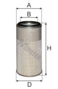 MFILTER A876 Воздушный фильтр