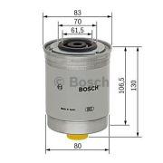 BOSCH 1457434103 Топливный фильтр