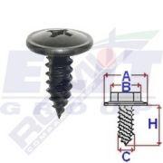 LKQ KHRC60623 Винт салона (к-т:10 шт) размер:A =15mm/C = 6,2mm/H = 16mm на автомобиль HYUNDAI SONATA