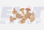 LKQ KHRC60524 Клипса обивки двери (к-т:10 шт) размер:A= 24,5mm/B = 7mm/C = 9,6mm/d = 4,5mm/H = 26mm на автомобиль HYUNDAI SONATA