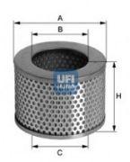 UFI 2709700 Воздушный фильтр