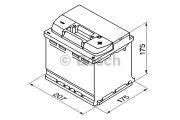 Bosch 0092S40010 Аккумулятор Bosch S4 Silver 44Ah, EN 440 правый