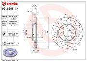 Brembo  Тормозной диск XTRA