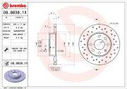Brembo  Тормозные диски