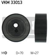 SKF VKM33013 Натяжной ролик, поликлиновой  ремень