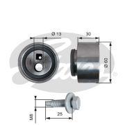 ELIT GT41139 Натяжной ролик, поликлиновой  ремень