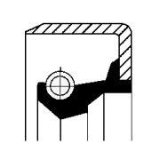 CORTECO COS01017010 Уплотнительное кольцо, тормозная колодка